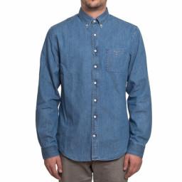 GANT - Camicia uomo maniche lunghe fitted shirt ls bd breton slim fit