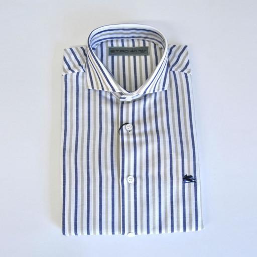 GANT - Camicia uomo maniche lunghe fitted ls slim fit