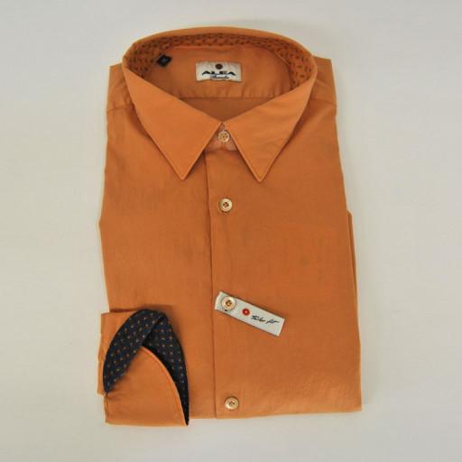 GANT - Camicia uomo maniche lunghe fitted shirt in poplin slim fit (indigo blue)